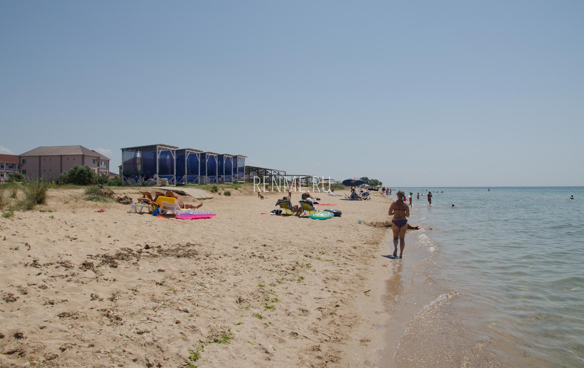 Песчаный пляж в Союз-2004. Фото Заозёрного