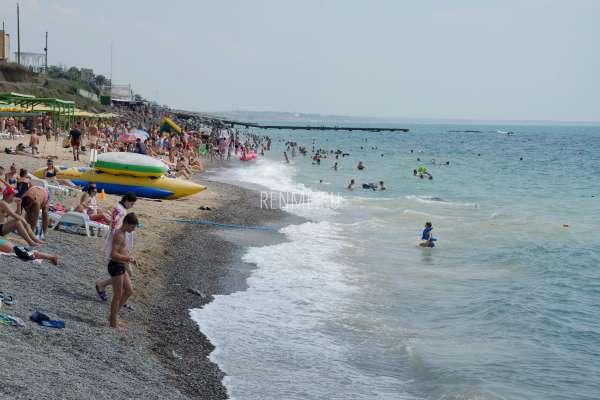 Николаевки. Пляж №5. Фото Николаевки