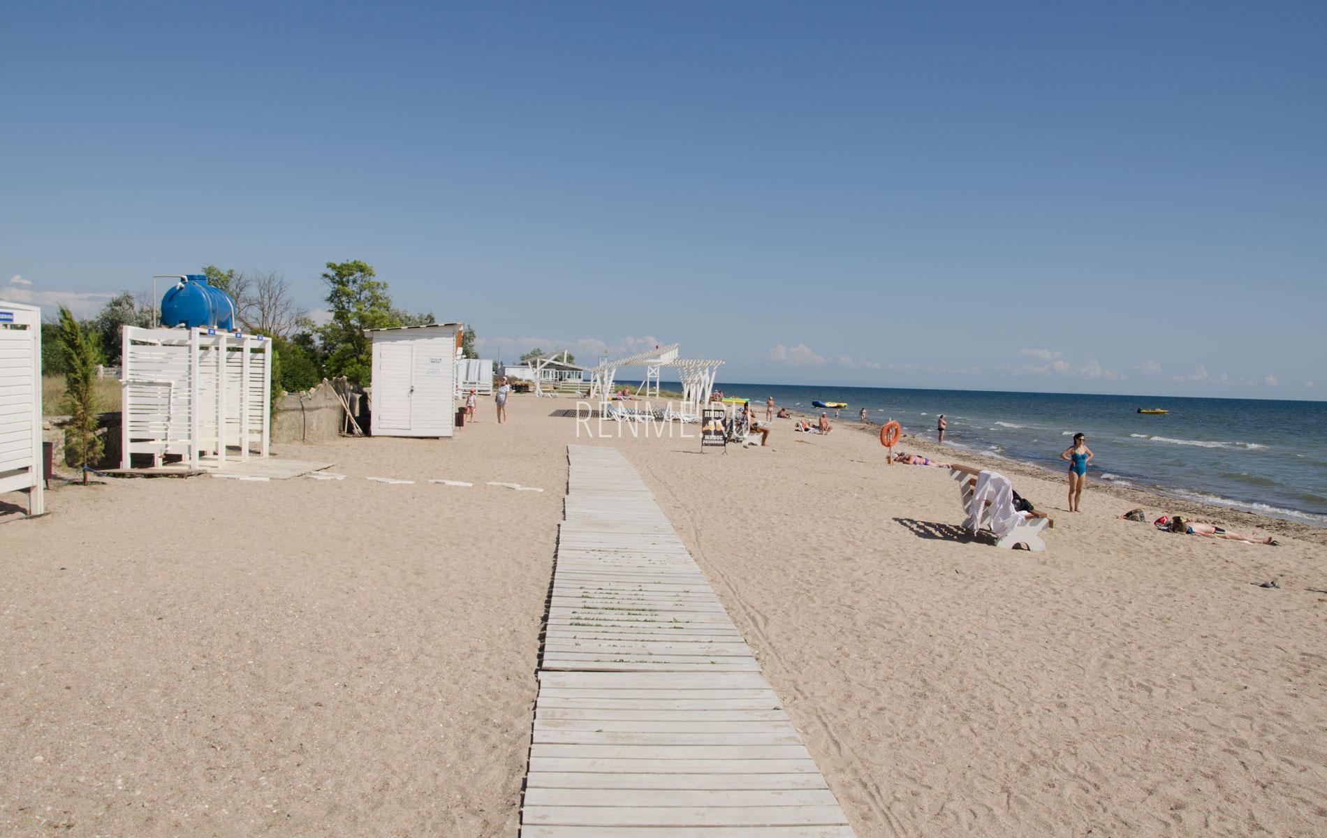 Пляжная дорожка пляжа Калипсо. Фото Заозёрного
