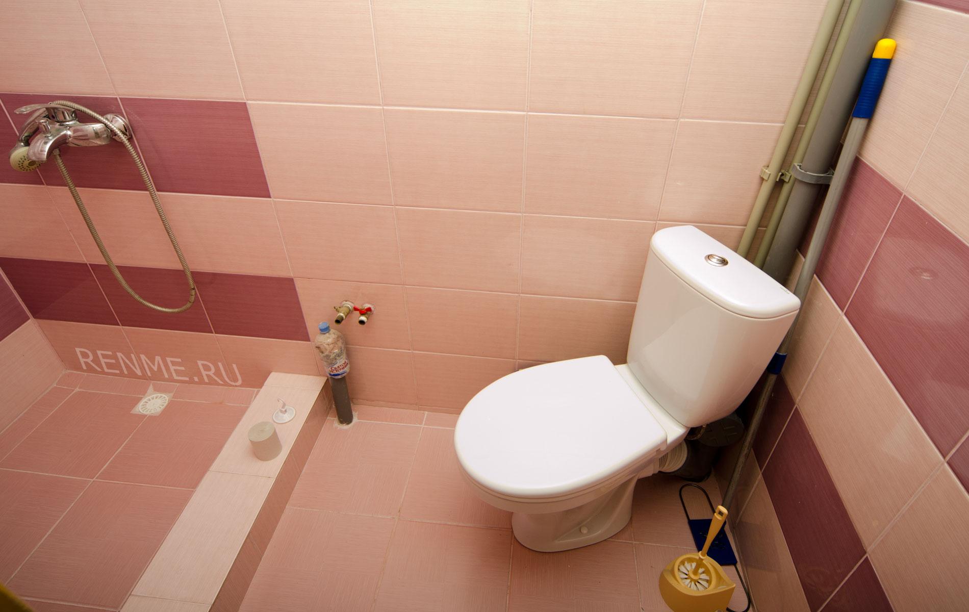 Душ, туалет