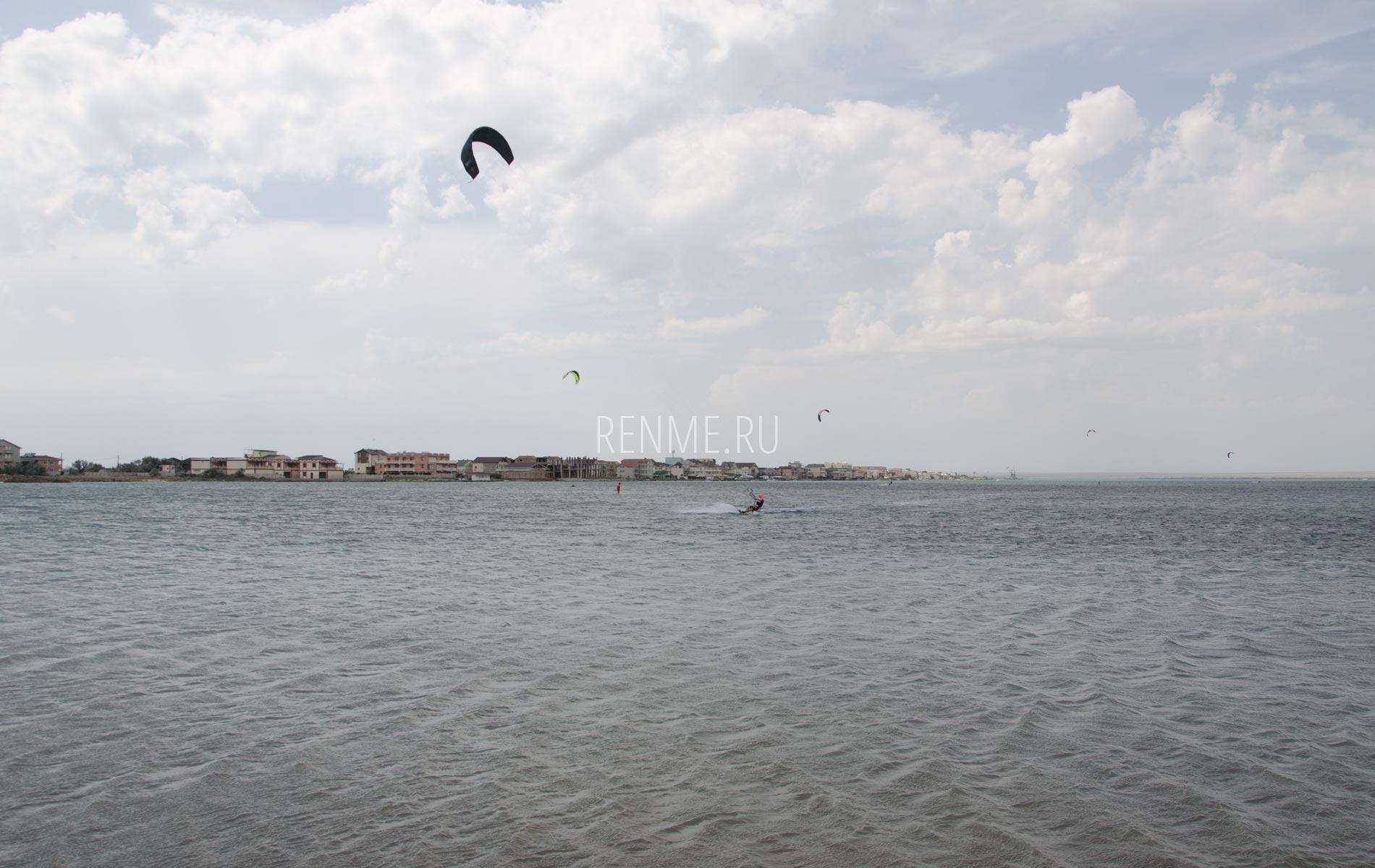 Кайт в Крыму 2020. Фото Мирного