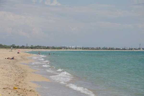 Песчаные заливы Крыма. Фото Молочного