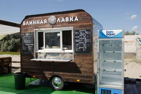 Блинная лавка на Казантипе. Фото Поповки