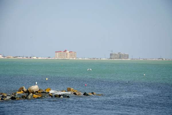 Каламитский залив. Фото Евпатории