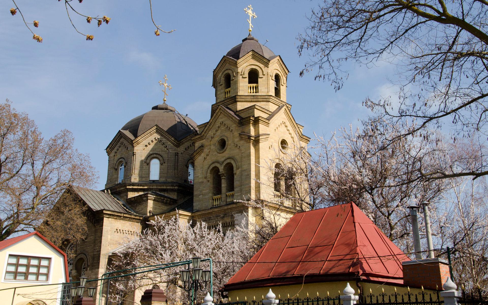 Храм Святого Илии в марте. Фото Евпатории