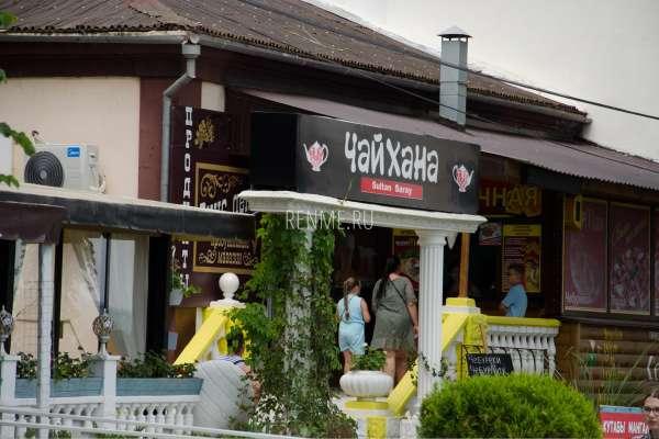Чайхана на набережной Евпатории. Фото Евпатории