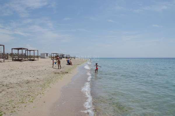 Самые песчаные пляжи России. Фото Заозёрного
