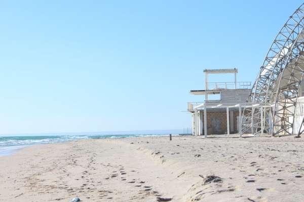 Z-Пляж в марте 2019. Фото Поповки