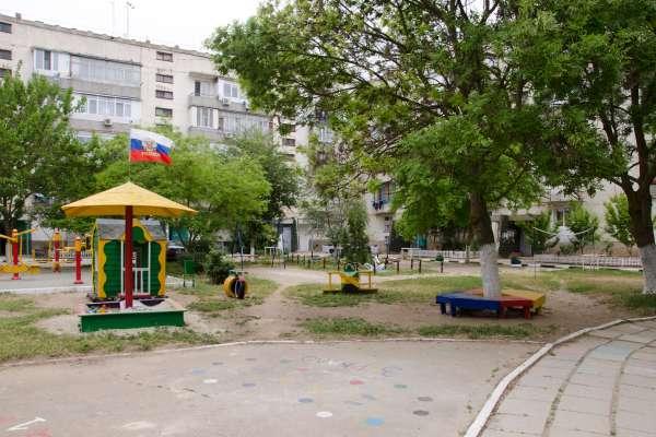 Двор. Фото Заозёрного
