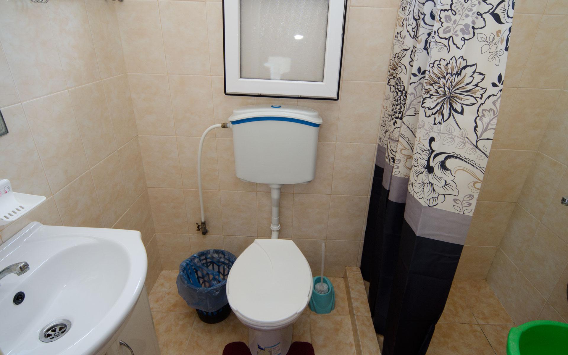 Душ, туалет. 9 квартира. Апарт-отель на 8 квартир. Заозёрное