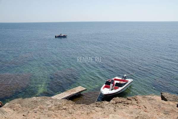 Морские прогулки на катере. Тарханкут. Фото Оленевки