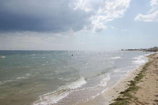 Море в Западном Крыму в сентябре. Фото Заозёрного