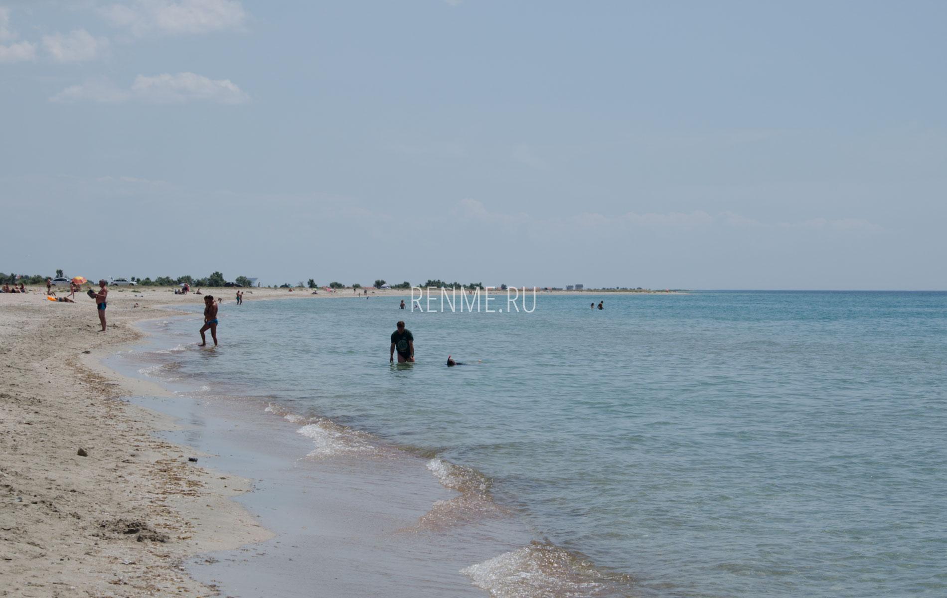 На берегу моря. Фото Штормового