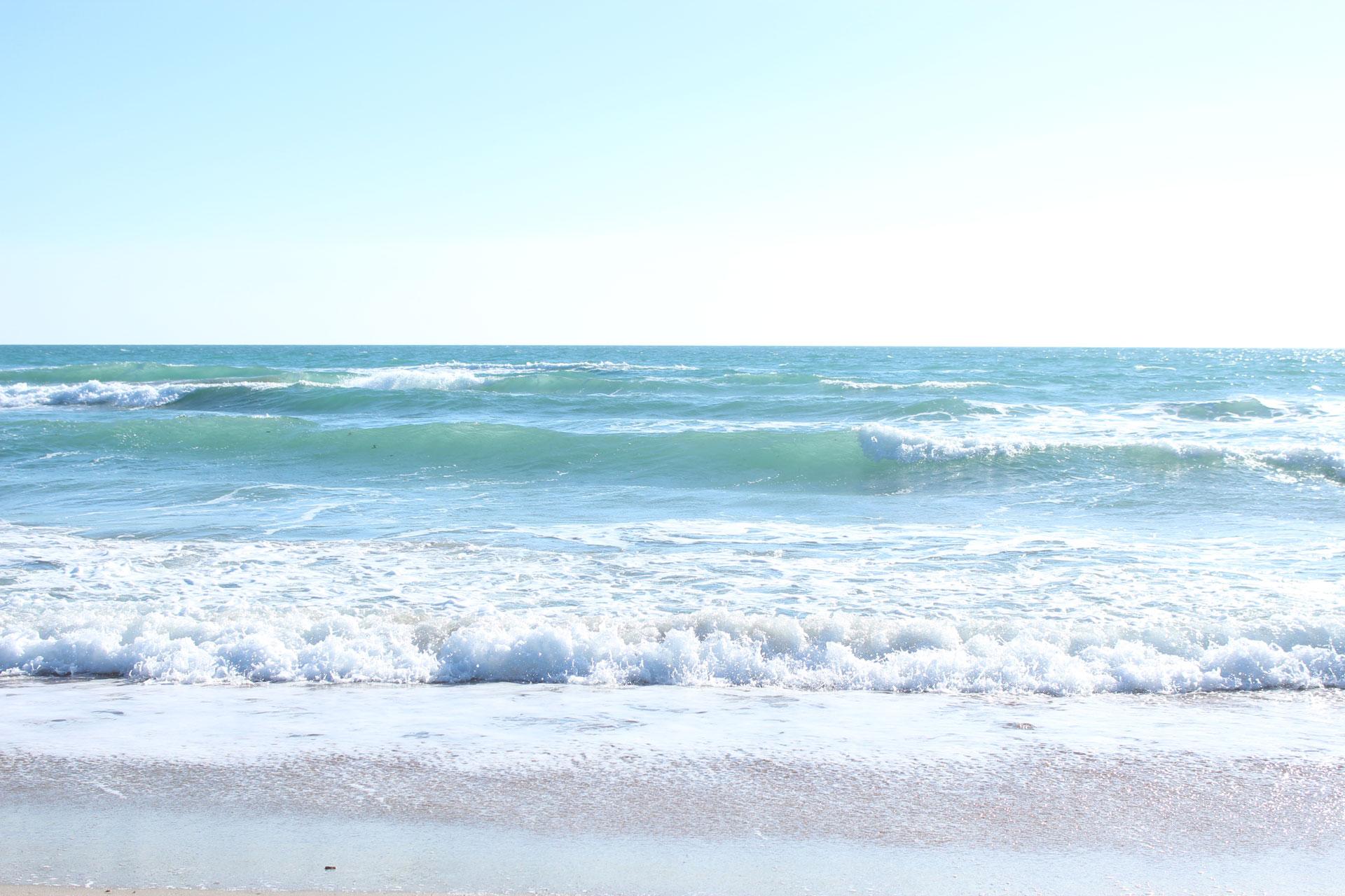 Черное море в марте 2019. Фото Поповки