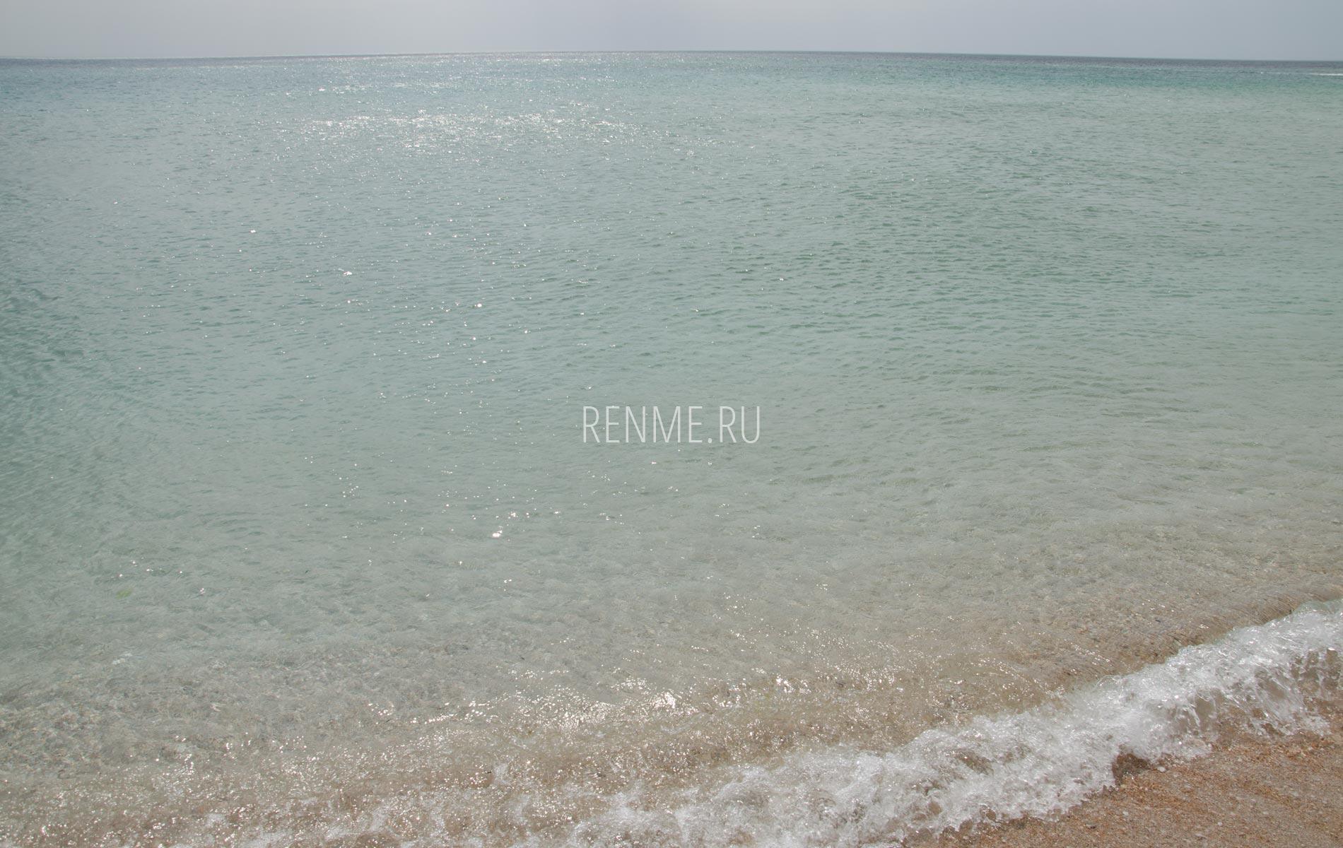 Море на Южной косе. Фото Мирного