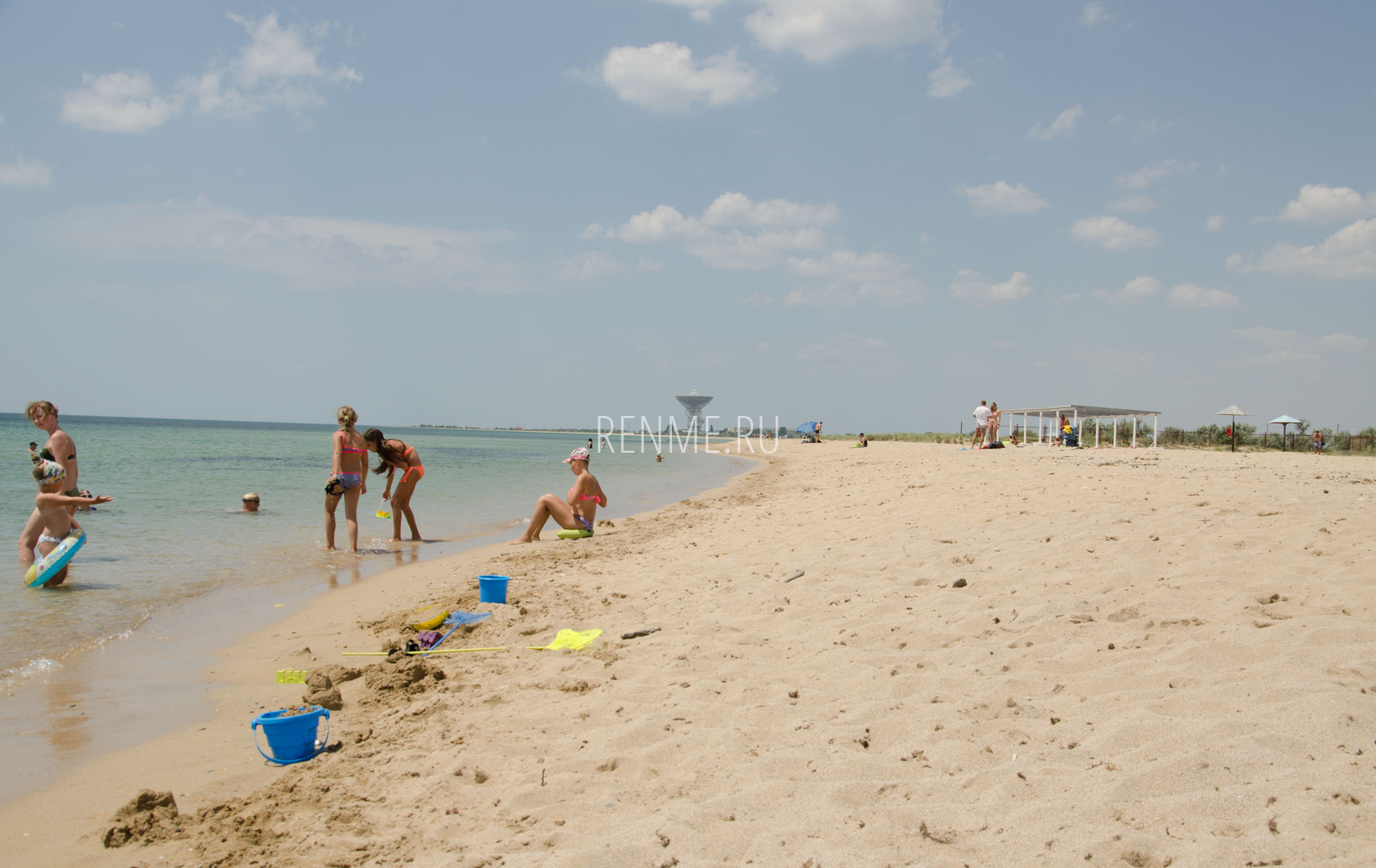"пляж ""Береговой"". Фото Молочного"