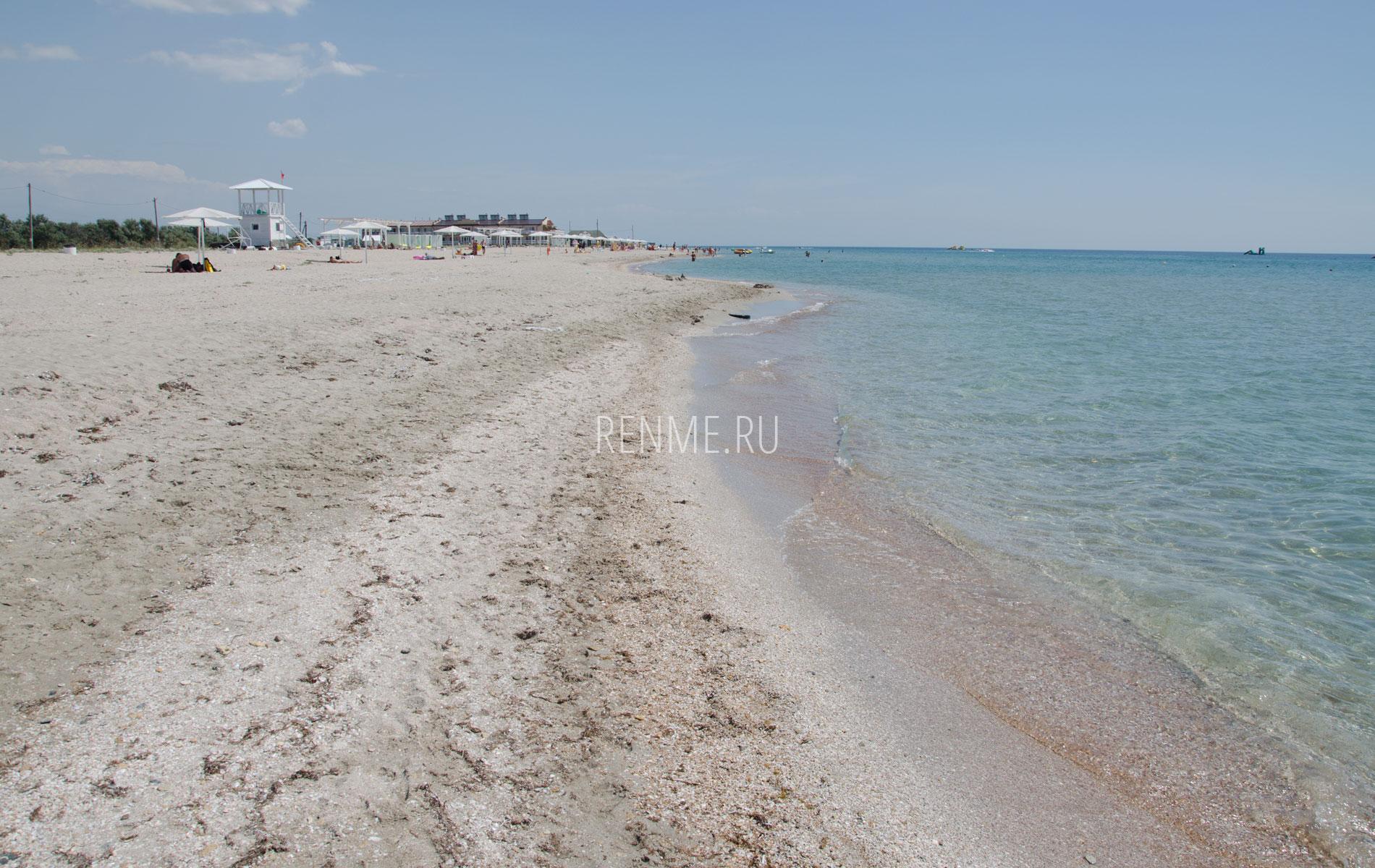 """Пляж """"Вега"""" в Штормовом 2019. Фото Штормового"""