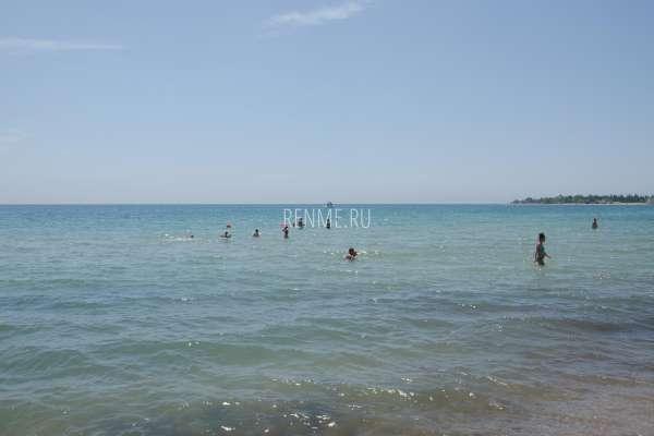 Отдыхающие купаются в море. Фото Заозёрного