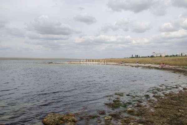 Пляж на Донузлаве. Фото