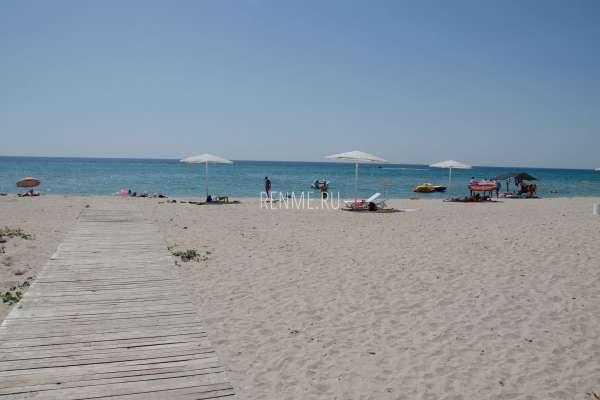"""Пляж """"Вега"""". Пляжи Штормового"""