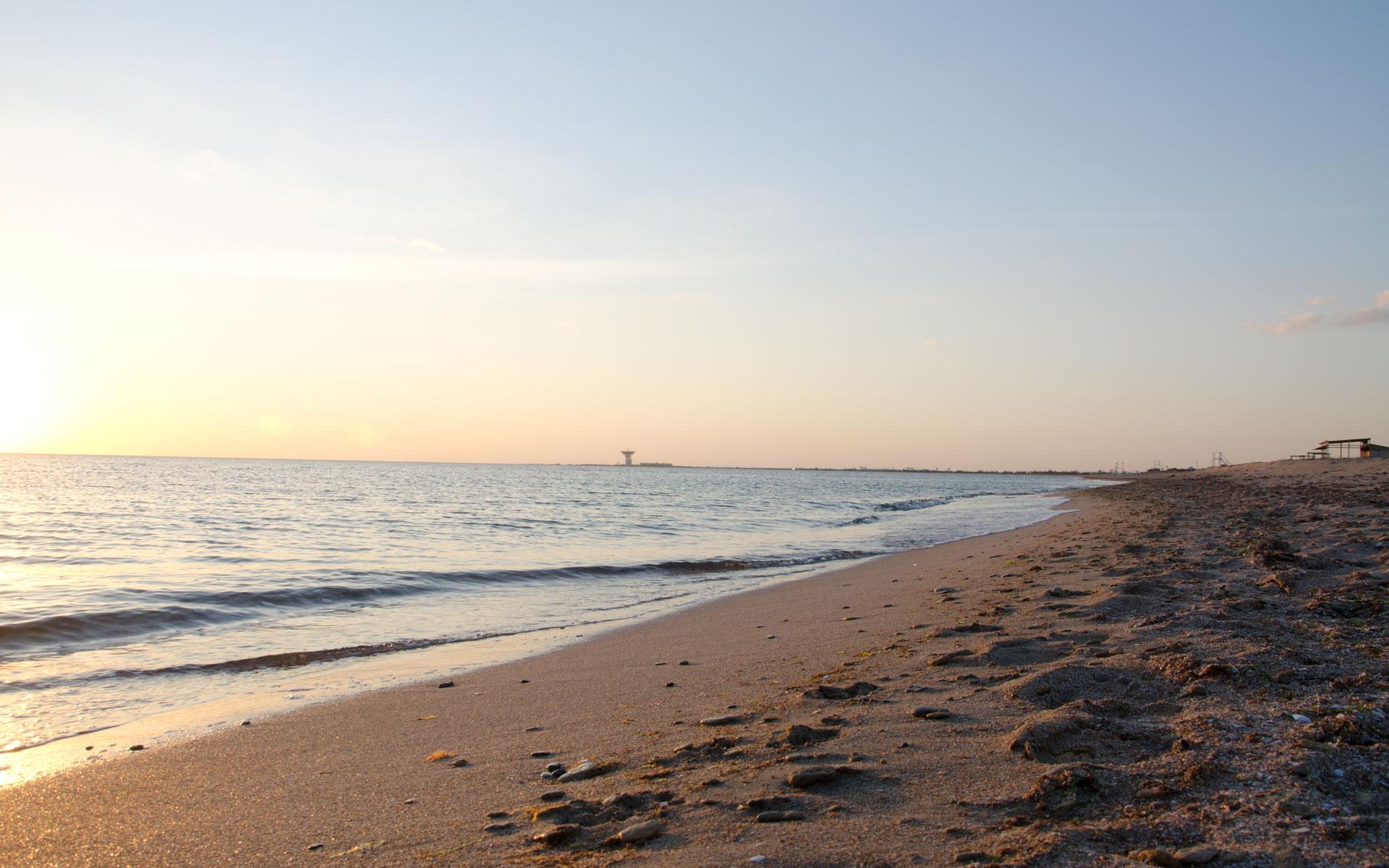 """""""Солдатский пляж"""". Фото Заозёрного"""