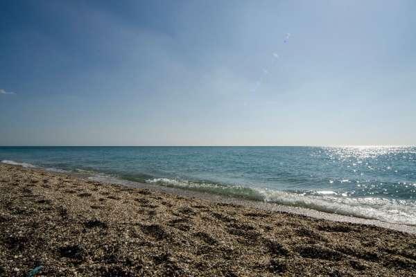 Чёрное море в апреле 2019. Фото Евпатории