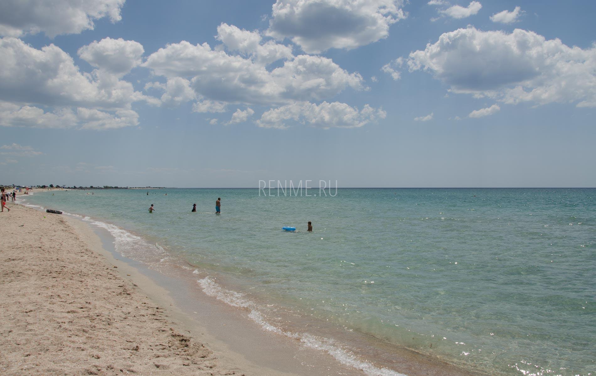 Июньское море в Штормовом. Фото Штормового