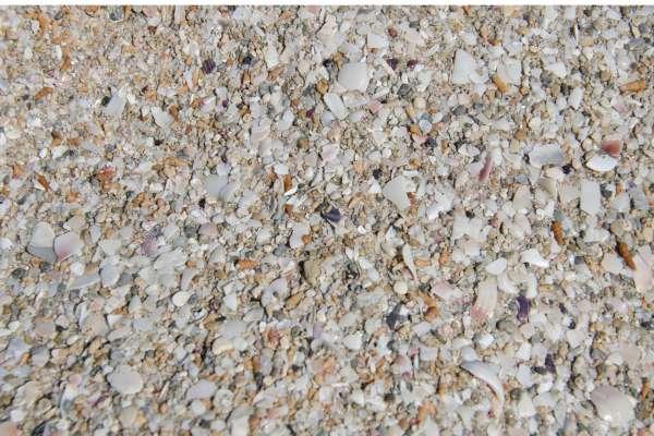 Пляжный песок в Мирном. Фото Мирного