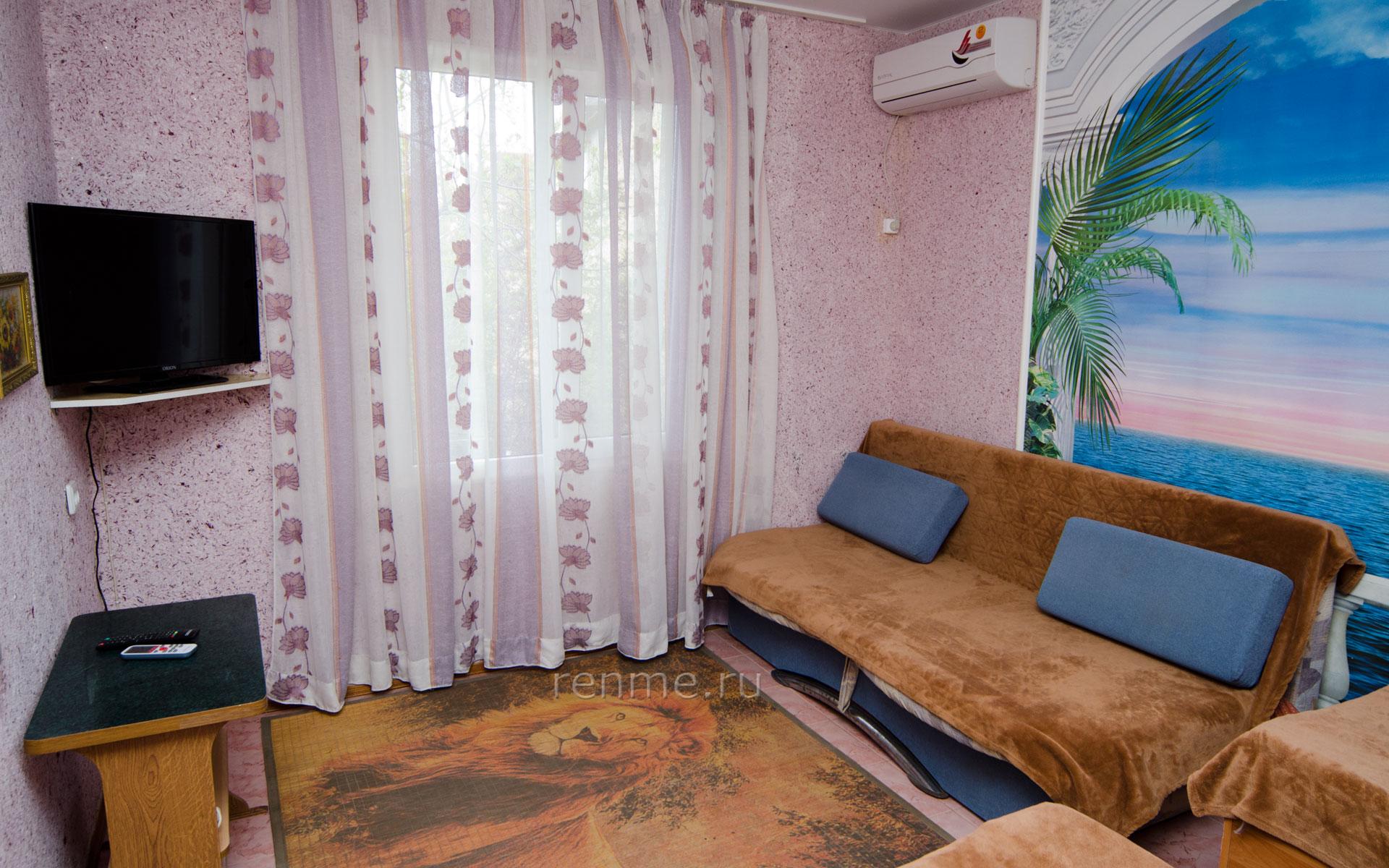 Комната. Море. Апарт-отель на 8 квартир. Заозёрное