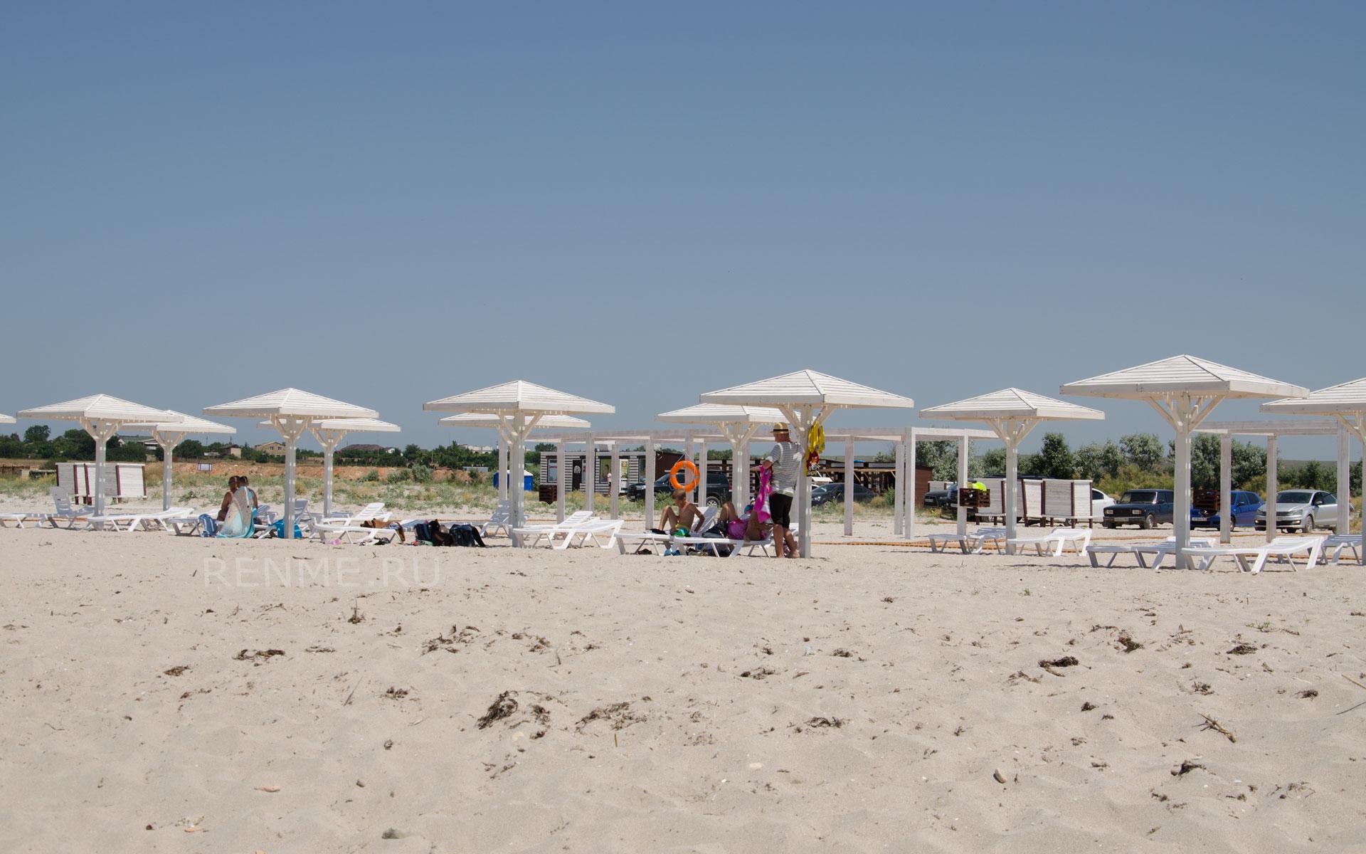 Лучший пляж в хорошем качестве. Фото Оленевки