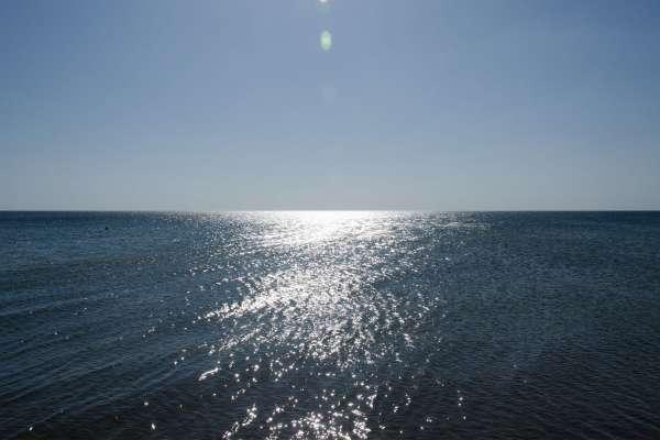 Черное море осенью. Фото Заозёрного