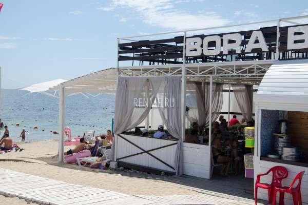 Кафе BoraBora. Фото Заозёрного