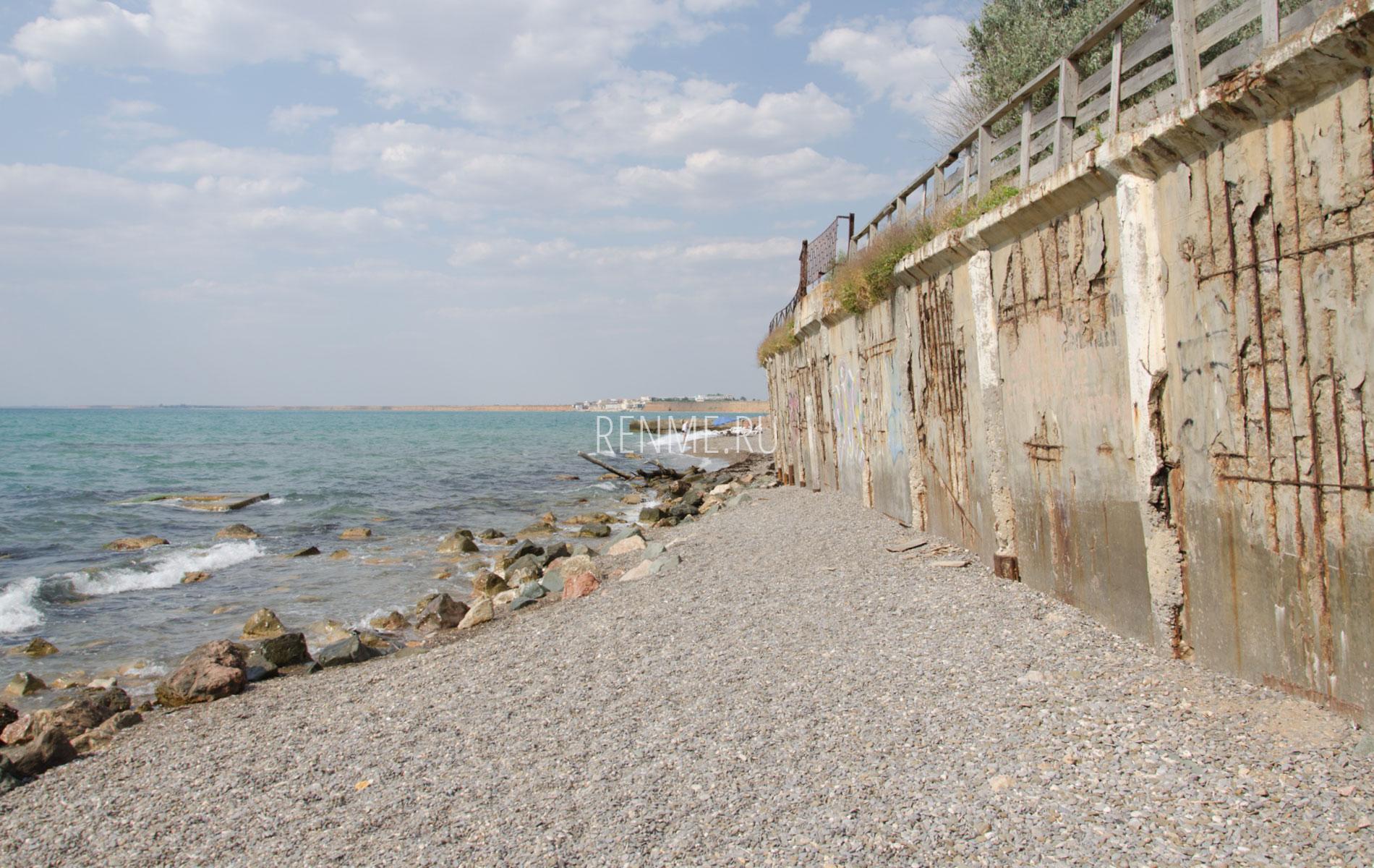 Морской берег. Фото Николаевки