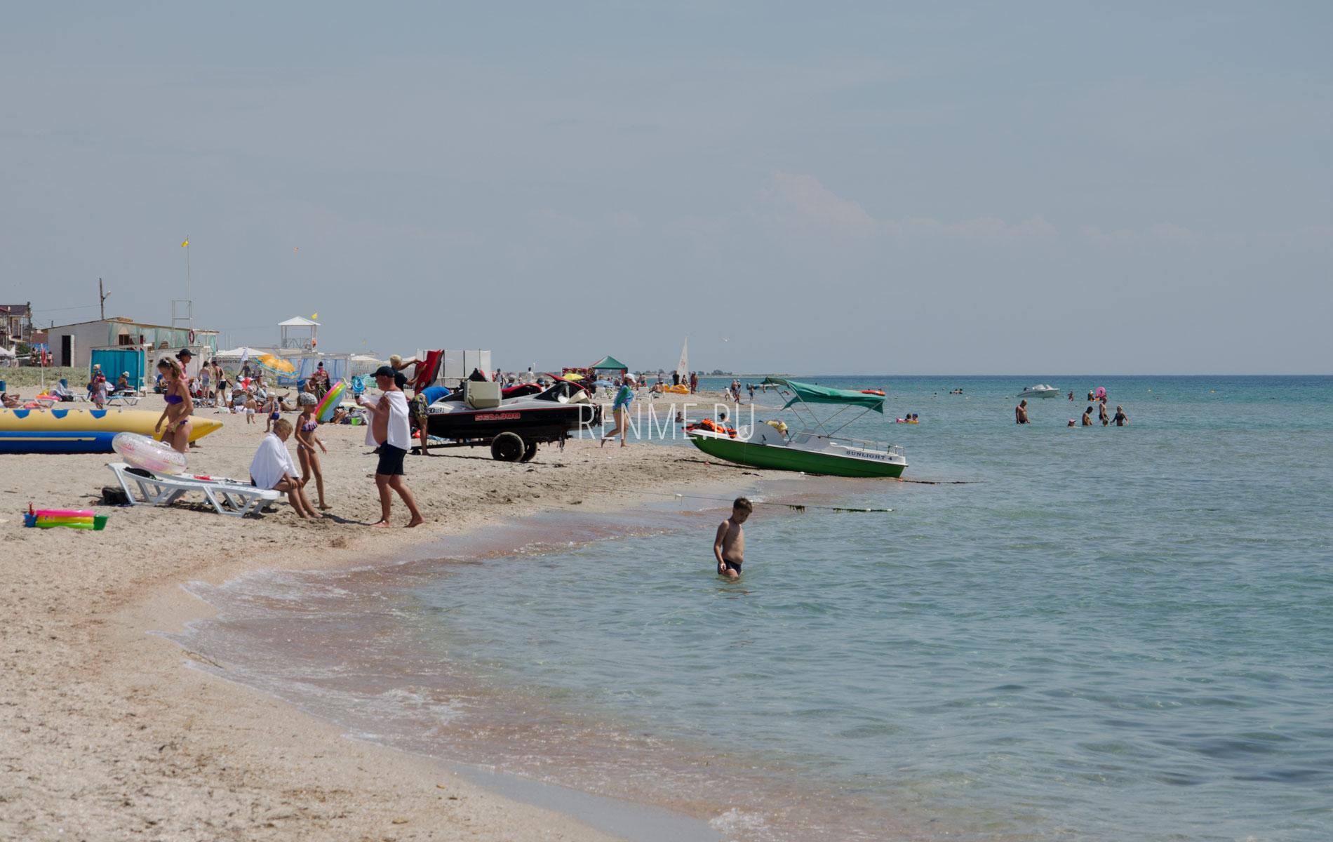 """Пляж """"Вега"""" в Штормовом, июль 2019. Фото Штормового"""