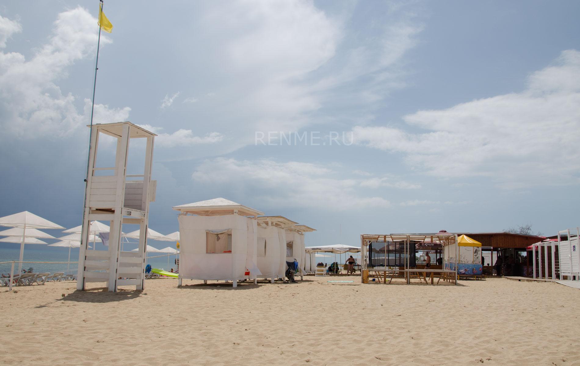 """Пляж """"Барабулька"""" в июне 2019. Фото Заозёрного"""