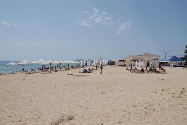 Пляж Барабулька летом 2020. Фото Заозёрного