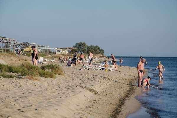Дикий пляж в сентябре. Фото Заозёрного