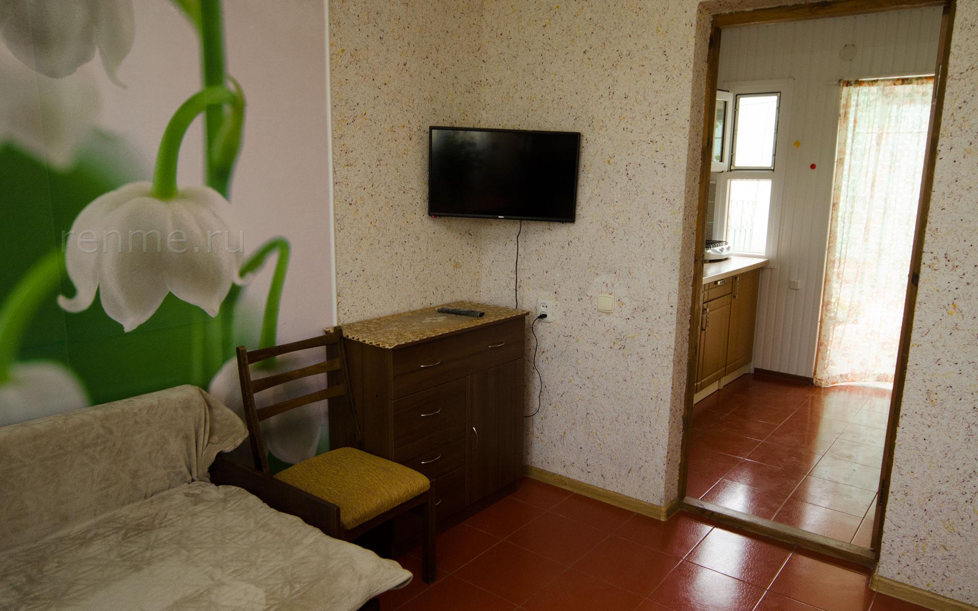 Комната. Ландыши. Апарт-отель на 8 квартир. Заозёрное