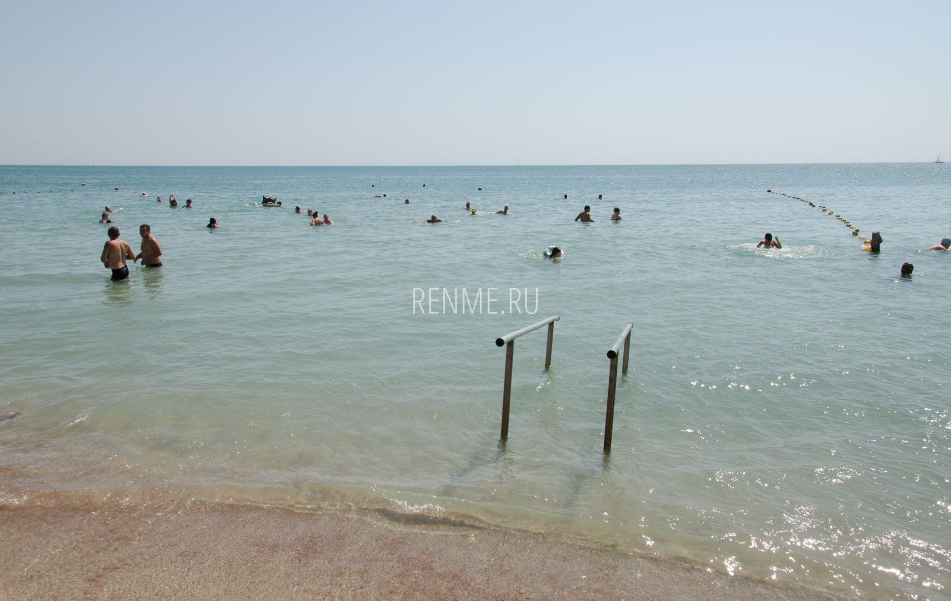 Море на Симферопольской в Крыму. Фото Евпатории