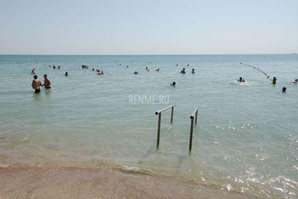"""Пляж """"Оазис"""". Пляжи Евпатории"""