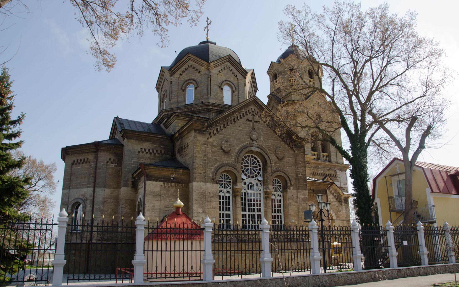 Храм Святого Илии весной 2019. Фото Евпатории