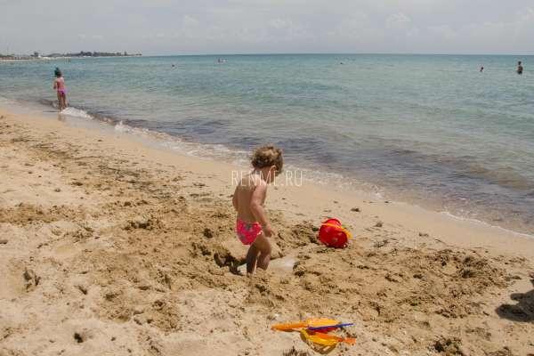 Идеальный песок для детей. Фото Заозёрного