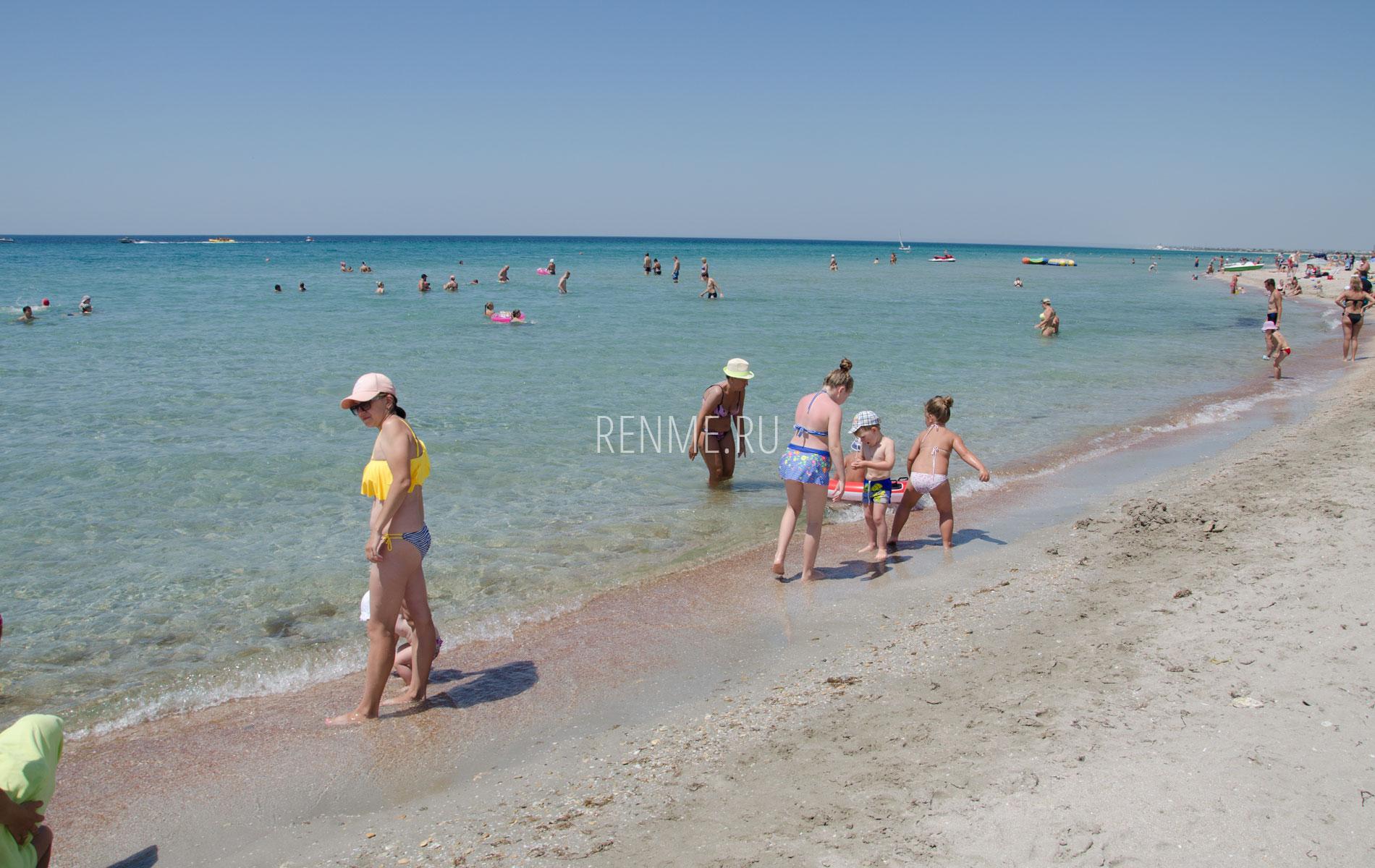 Вот какое море в Крыму!. Фото Штормового