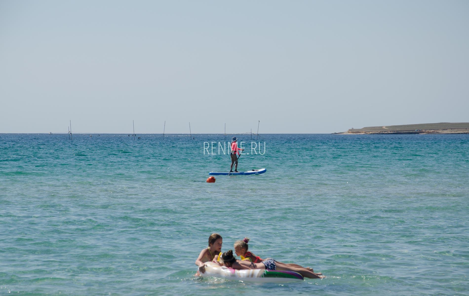 Море 2020 с детьми. Фото Оленевки