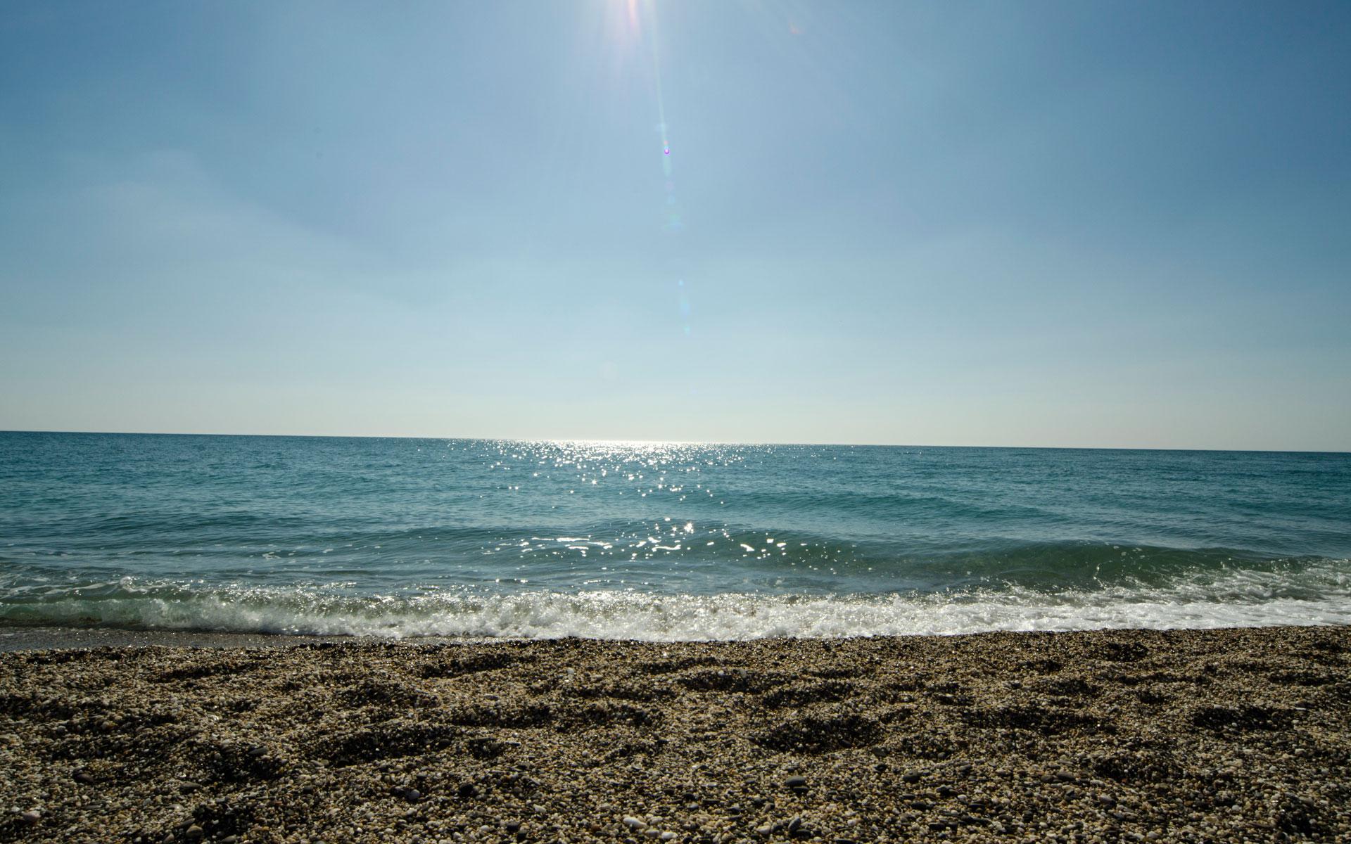 Море в апреле 2019. Фото Евпатории