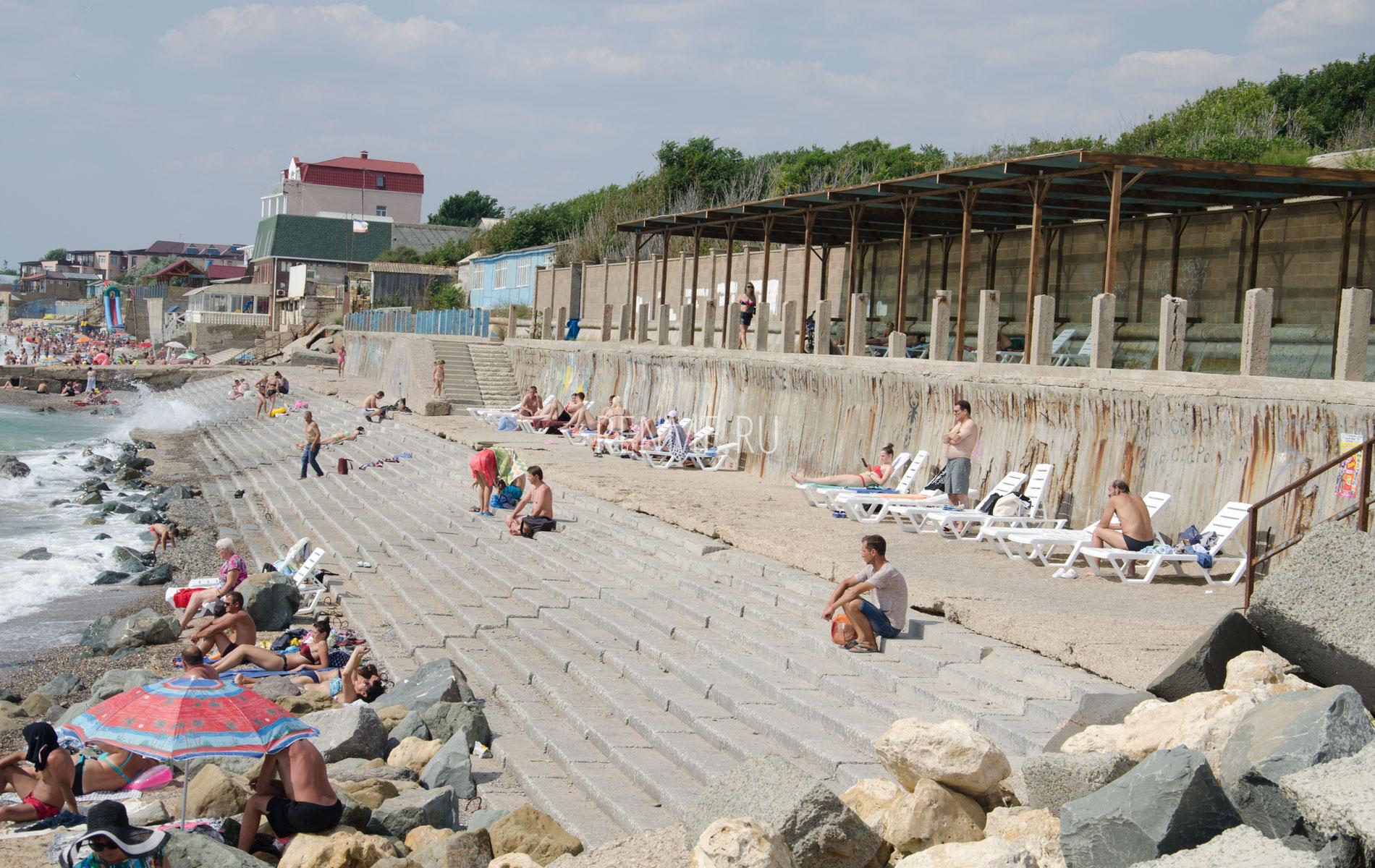 Пляжи Николавке . Фото Николаевки