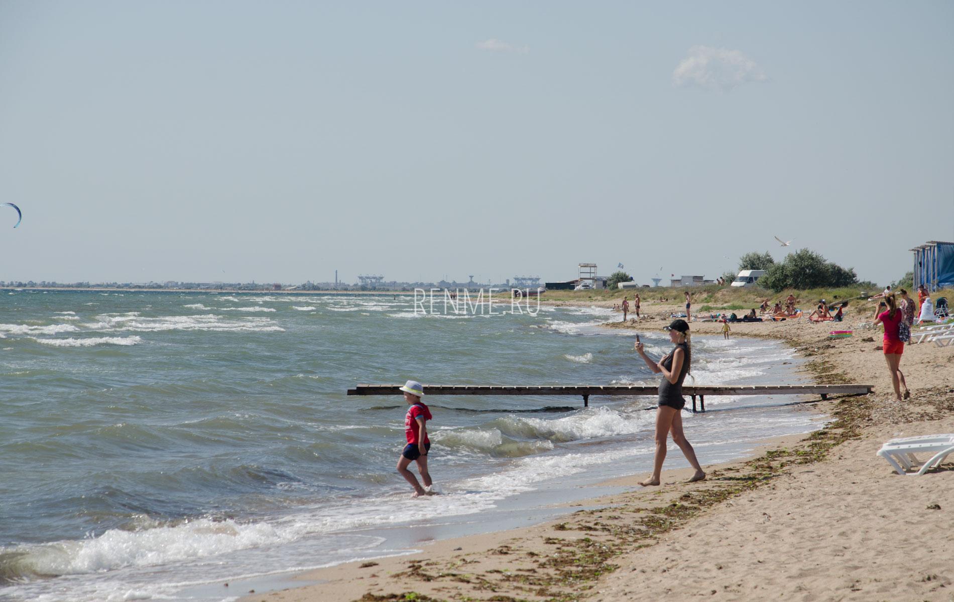 Селфи на пляже СОЮЗ-2004. Фото Заозёрного
