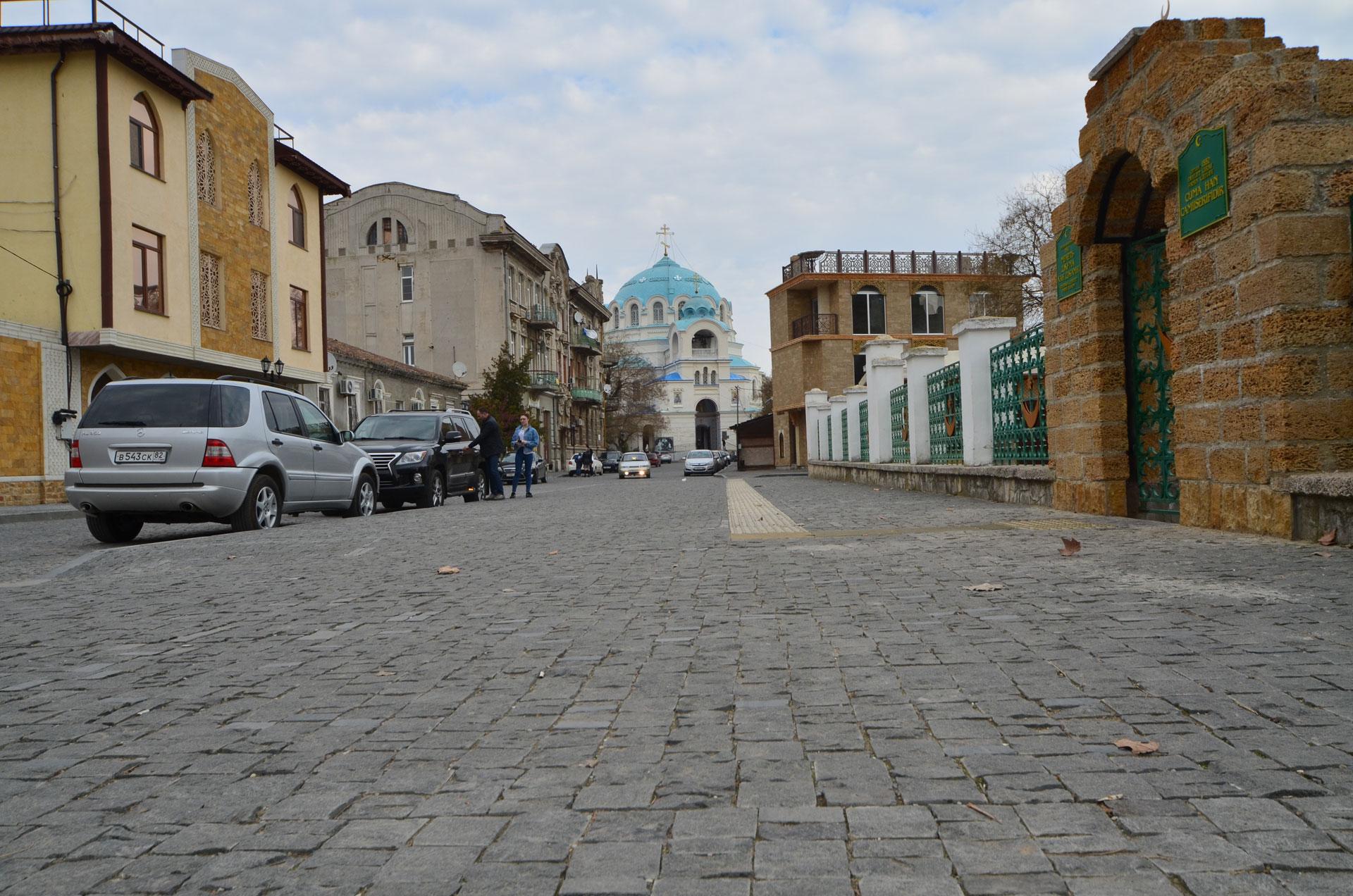 Старый город а марте 2019. Фото Евпатории