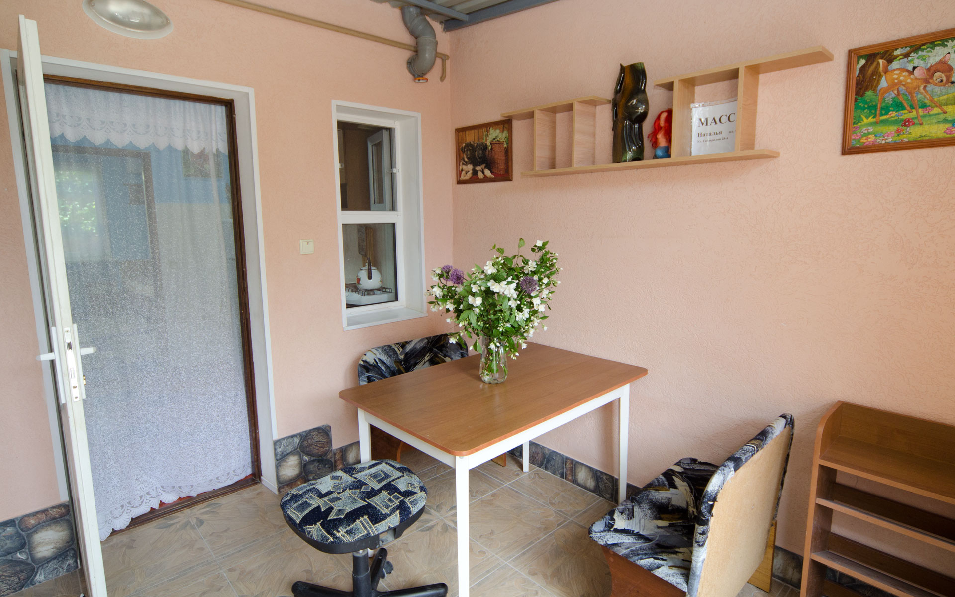 Беседка 2 номера. Квартира 2. 2 квартиры на ул. Гайдара. Заозёрное