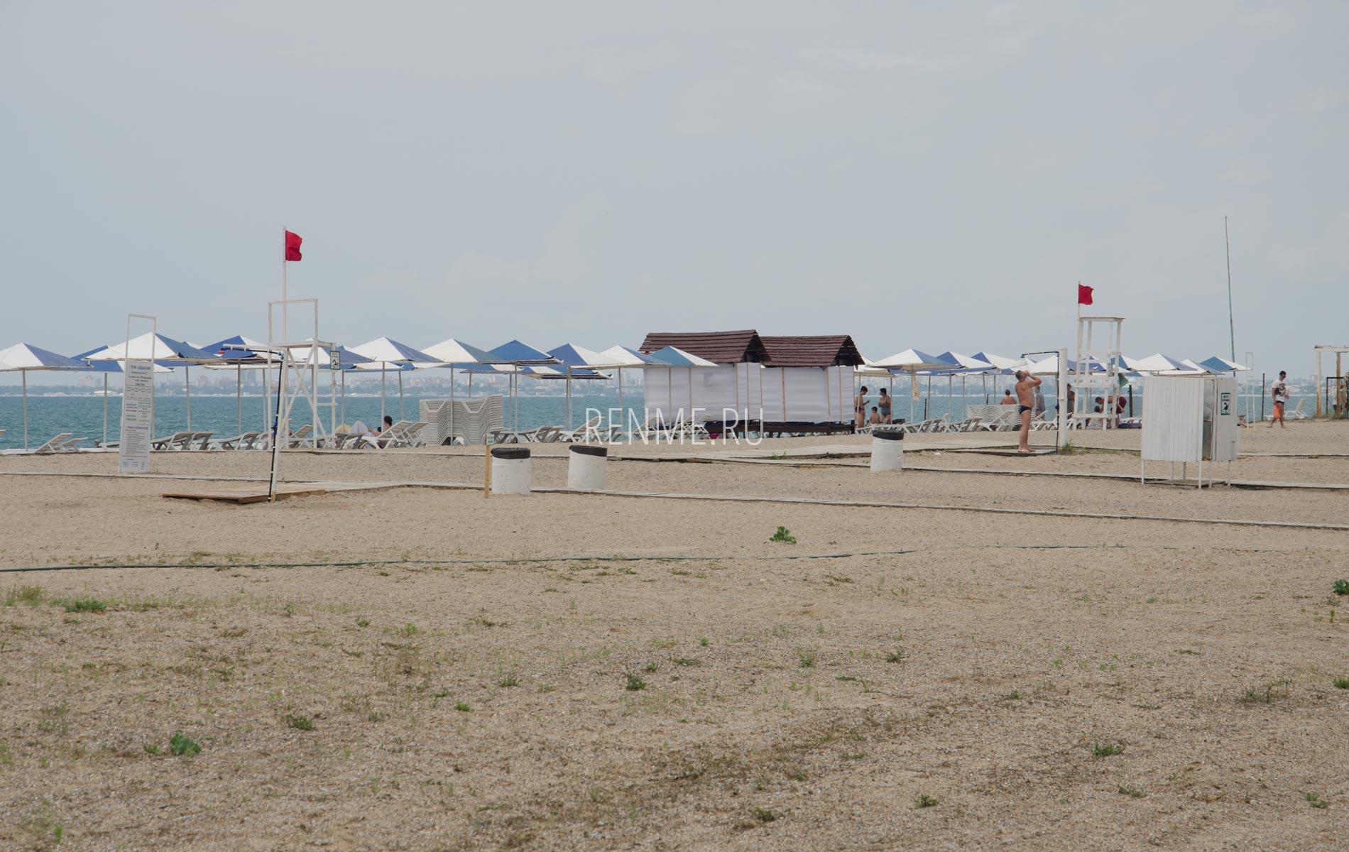 Пляжи Крыма сейчас 2020. Фото Прибрежного
